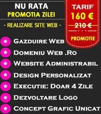 Oferta realizare site web