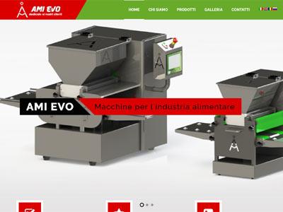 AMIEVO - realizare site web