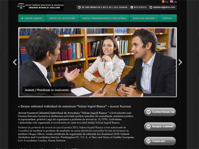 Laminina - realizare site web