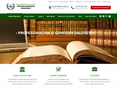realizare site web