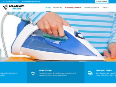 CALCATORIA MARIA - realizare site web