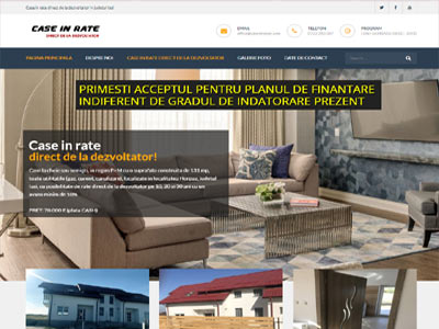 Case in rate- realizare site web