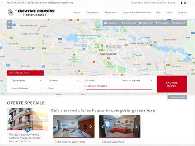 Terra House- realizare site web