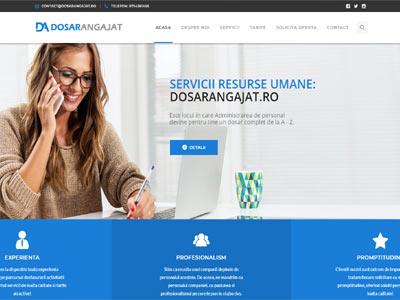 DOSAR ANGAJAT - realizare site web