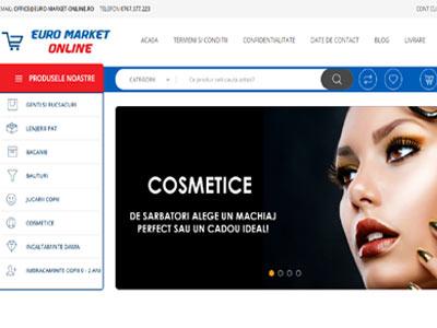 EURO MARKET ONLINE- creare magazin online