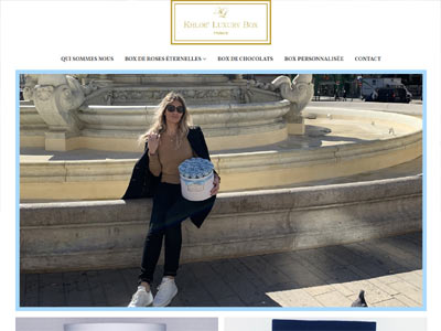 Khloe Luxury Box - creare magazin online