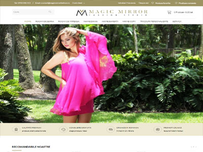 MAGIC MIRROR FASHION- creare magazin online