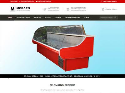 MODACO - creare magazin online