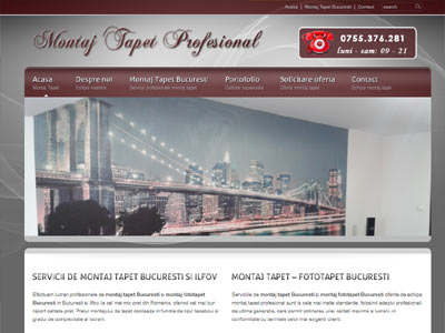Beton Amprentat Plus - Realizare site web