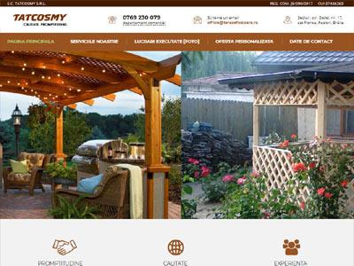 TatCosmy - realizare site web