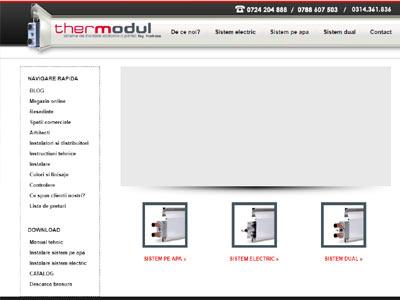 Cambridge - realizare site web