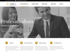 realizare site web avocat Amuntencei