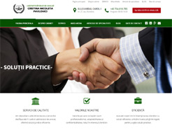 realizare site web avocat Pavlovici